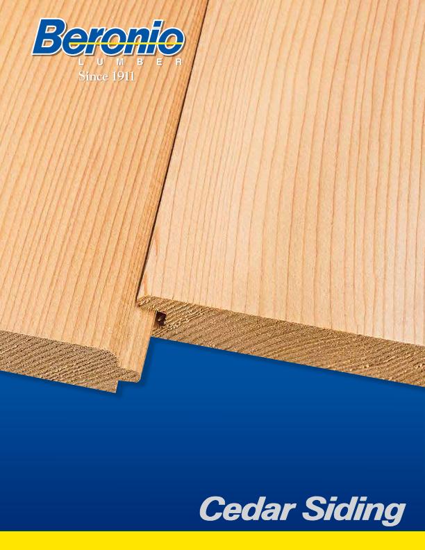 Cedar Siding Catalog
