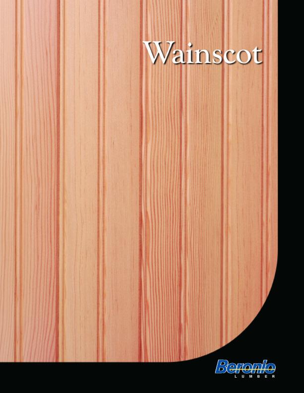 Wainscot Catalog